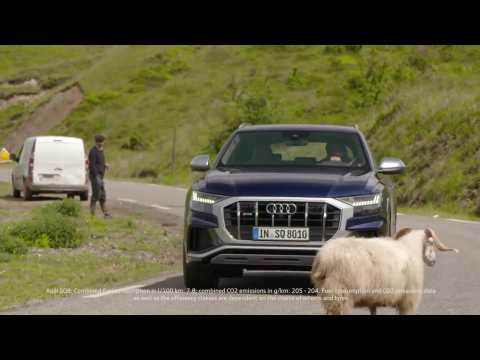 The new Audi SQ8 Trailer