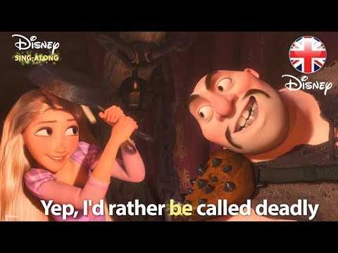 DISNEY SING-ALONGS | I've Got A Dream - Tangled Lyric Video | Official Disney UK