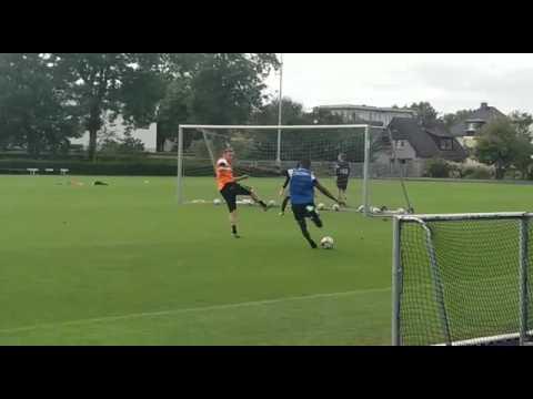 Le Sporting de Charleroi en stage à Kamen (Allemagne): tournoi de sixte