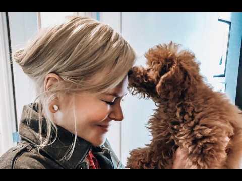 Nicole Kidman gets first ever dog