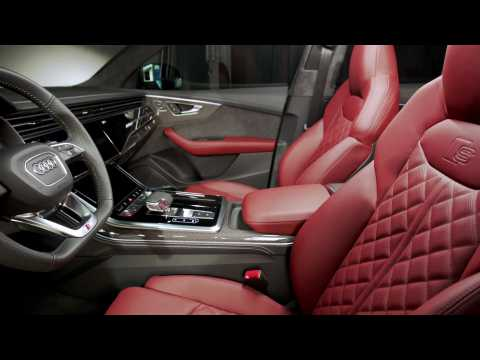 Audi SQ8 Interior Design