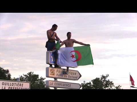AFCON-2019: Algeria fans in Lyon celebrate beating Ivory Coast