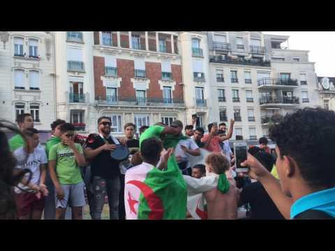 La qualif de l'Algérie fêtée à Douai