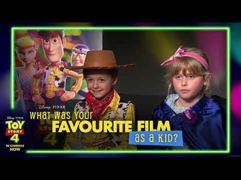 TOY STORY 4   Tom Hanks Kids Interview   Official Disney Pixar UK