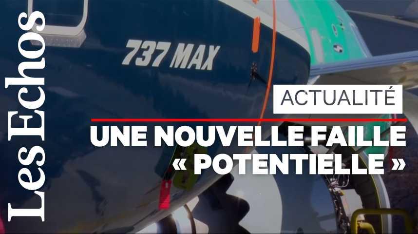Illustration pour la vidéo Boeing s'enfonce dans la crise du 737 MAX