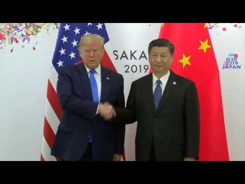 Trump meets Xi at G20