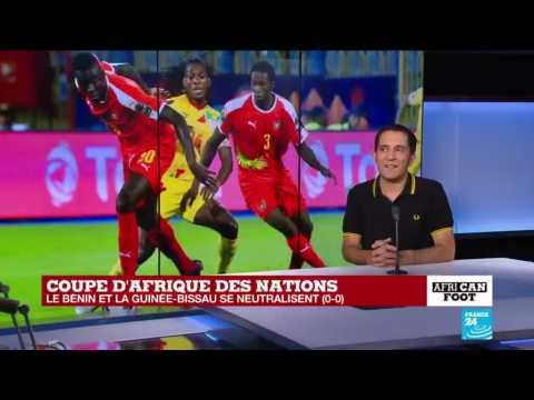 CAN-2019 : Le Bénin et la Guinée-Bissau se neutralisent (0-0)