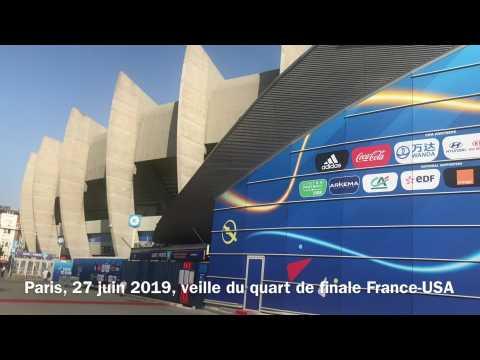 Mondial 2019 : avant France -Etats-Unis au Parc des princes
