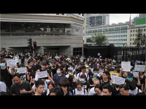 Fresh Protests Hit Hong Kong As Activists Seek Voice At G20