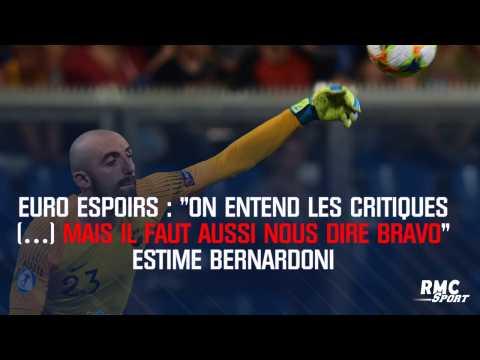 """Bernardoni : """"On entend les critiques (…) mais il faut aussi nous dire bravo"""""""