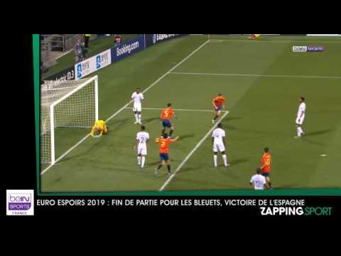 Zap sport du 28 juin - Euro Espoirs 2019 : les Bleuets s'inclinent face à l'Espagne