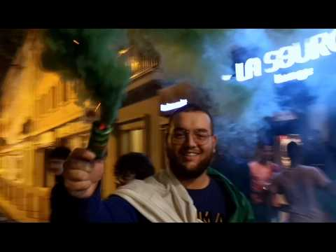 Beauvais. Les supporters  des Fennecs célèbrent la victoire en finale de la CAN