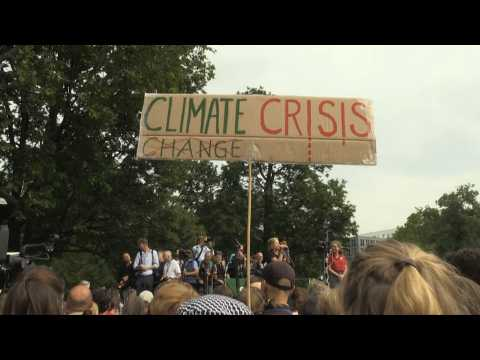 Greta Thunberg addresses Fridays for Future protest in Berlin