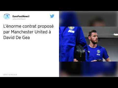 Manchester United. David de Gea va devenir le gardien le mieux payé du monde