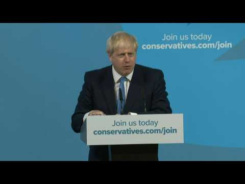 Boris Johnson vows to 'get Brexit done' on October 31