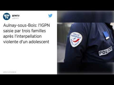 Cinq enfants interpellés à Aulnay-sous-Bois?: les familles portent plainte pour violence policière