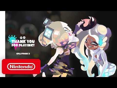 Splatoon 2 - Final Splatfest 'Thank You' Trailer - Nintendo Switch
