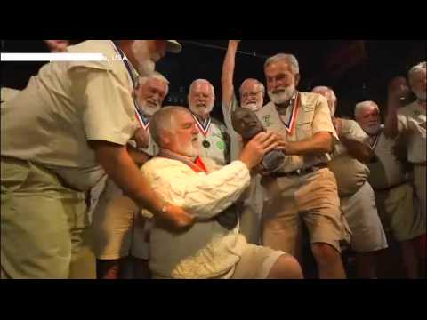 Hundreds of Hemingway look-alikes take part in annual US contest