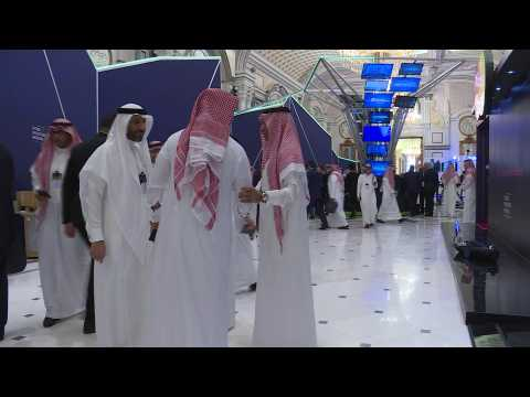 Global leaders, tycoons attend Saudi 'Davos in desert'