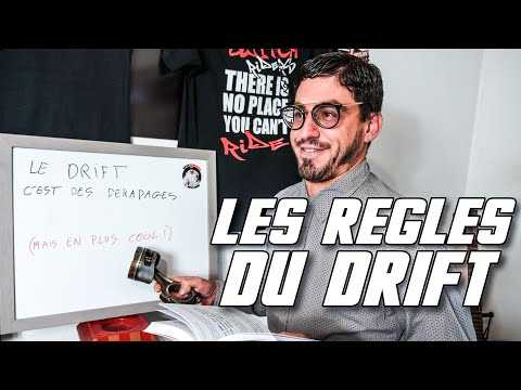 LES RÈGLES DU DRIFT EN COMPÉTITION