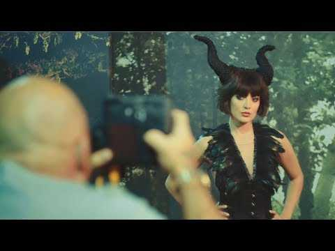 Maleficent: Mistress of Evil | Behind-The-Scenes Photoshoot with MAC | Official Disney UK