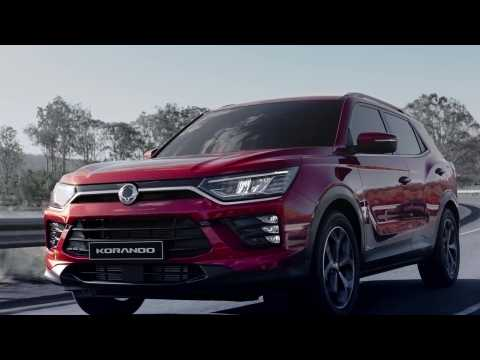 The new SsangYong Korando Preview