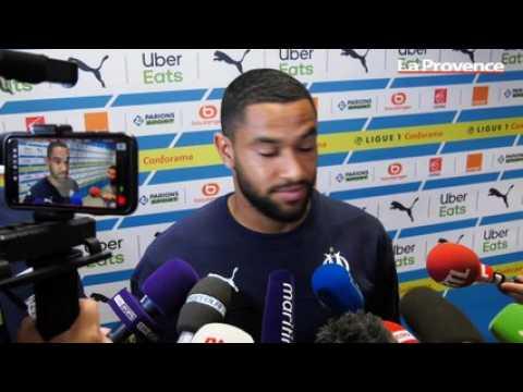 """VIDEO: OM-Lyon : """"Il ne faut pas s'enflammer même si nous sommes deuxièmes"""" (Amavi)"""