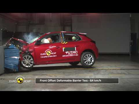 Opel/Vauxhall Corsa - Crash Tests 2019