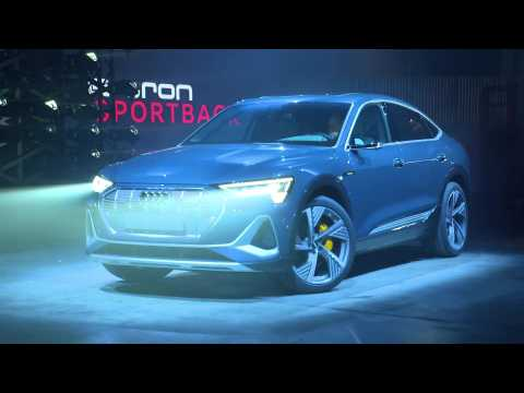 World premiere of the Audi e-tron Sportback in Los Angeles