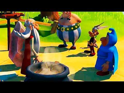 """ASTERIX & OBELIX XXL3 """"The Crystal Menhir"""" Trailer (2019) PS4 / Xbox One"""