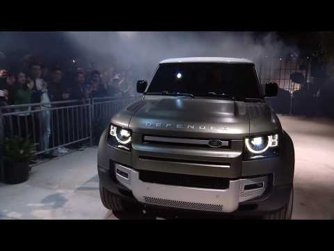 Land Rover Defender North American Debut Reveals