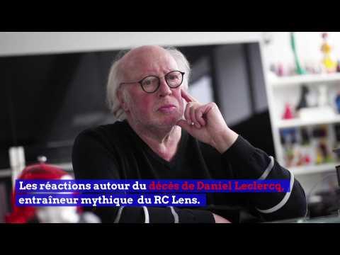 VIDEO: Les réactions suite au décès de Daniel Leclercq