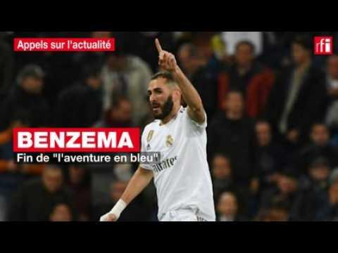 "VIDEO: Benzema : fin de ""l'aventure en bleu"""