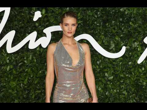Rosie Huntington-Whiteley leads best dressed at Fashion Awards