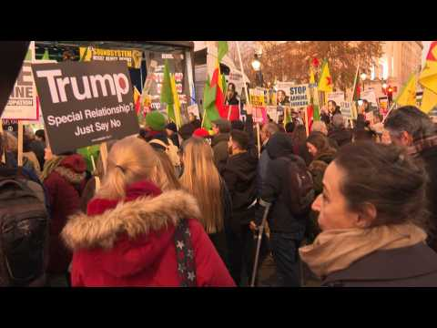 Protest in London against NATO and Trump's visit (2)