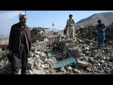 Residents return after IS losses in east Afghanistan