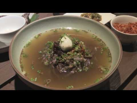 Seoul restaurants offer rare taste of North Korean food