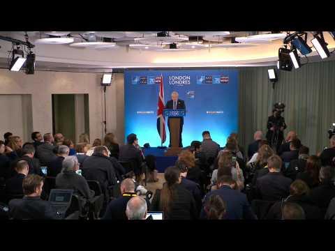 British PM Johnson denies claims he mocked Trump at NATO summit
