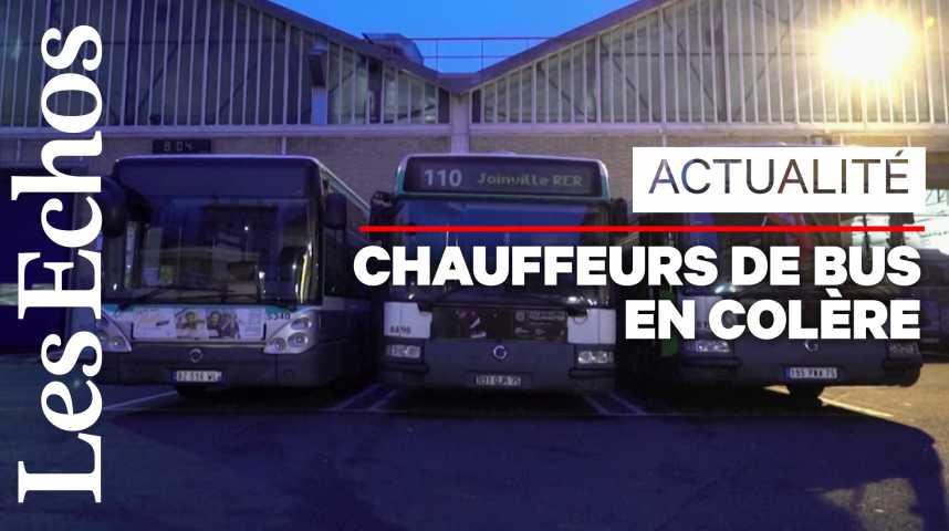 Illustration pour la vidéo Les chauffeurs de bus dénoncent les idées reçues envers les « régimes spéciaux », à l'occasion de la grève du 5 décembre