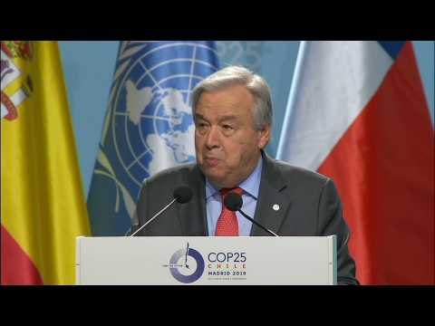 Choose hope or climate surrender, says UN chief Guterres at COP