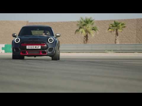MINI John Cooper Works GP Driving at the Racetrack