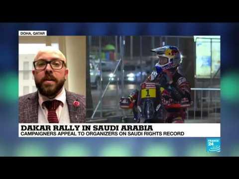 Dakar Rally in Saudi Arabia: Campaigners appeal to organizers on Saudi rights record