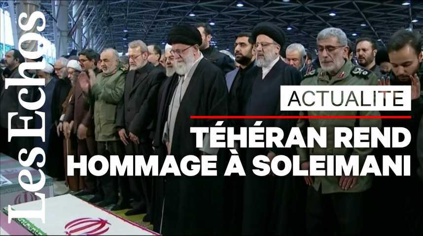 Illustration pour la vidéo Téhéran rend hommage au général Qassem Soleimani