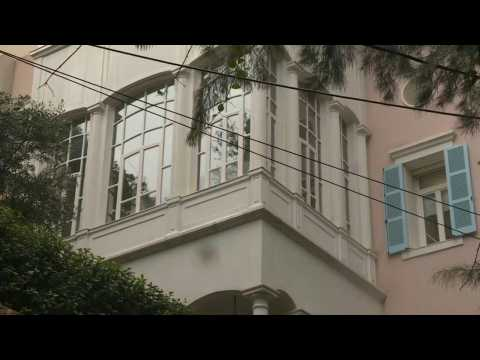 Images of former Nissan chief Carlos Ghosn's house in Beirut
