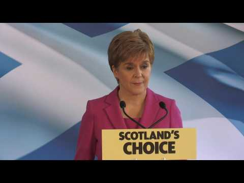 UK vote 'reinforces' case for Scottish independence poll: Sturgeon