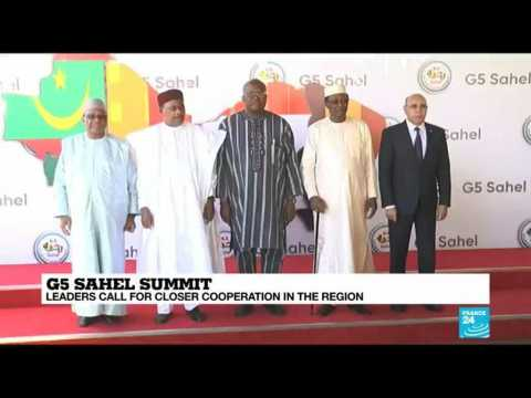 G5 Sahel leaders hold crisis summit in response to deadly jihadist attack in Niger