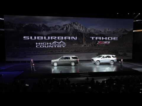 All-New 2021 Chevrolet Tahoe & Suburban - Reveal Event