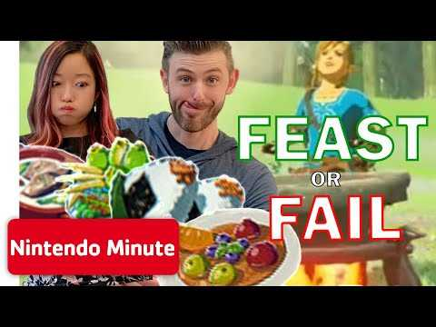 The Legend of Zelda: Breath of the Wild - Ultimate FEAST or FAIL Challenge