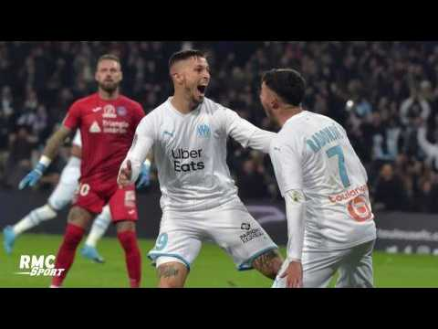 """VIDEO: OM : Kamara """"très heureux"""" pour Radonjic après son premier but à Marseille"""