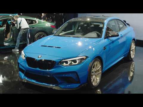 The new BMW M2 CS Racing at LA Auto Show 2019